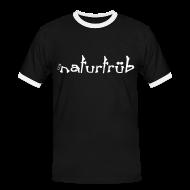 T-Shirts ~ Männer Kontrast-T-Shirt ~ naturtrüb Shirt