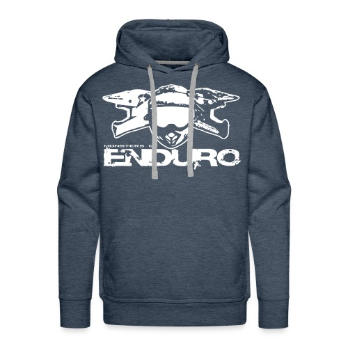 Feel the Mud - Monsters of Enduro - Männer Premium Hoodie