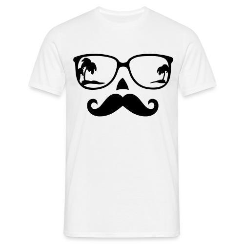 Mustache - Männer T-Shirt