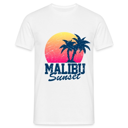 Malibu Sunset by Yanis.S (HOMME) - T-shirt Homme