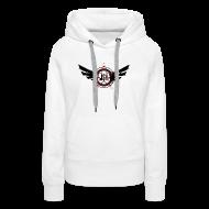 Hoodies & Sweatshirts ~ Women's Premium Hoodie ~ JSH Logo #10-b