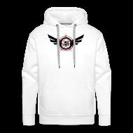 Hoodies & Sweatshirts ~ Men's Premium Hoodie ~ JSH Logo #10-b