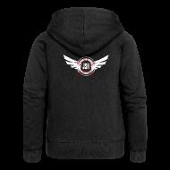 Hoodies & Sweatshirts ~ Women's Premium Hooded Jacket ~ JSH Logo #10-w