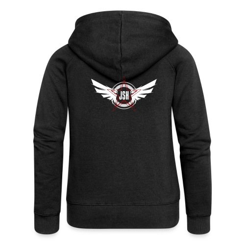 JSH Logo #10-w - Women's Premium Hooded Jacket