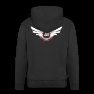 Hoodies & Sweatshirts ~ Men's Premium Hooded Jacket ~ JSH Logo #10-w