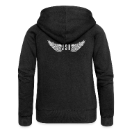 Hoodies & Sweatshirts ~ Women's Premium Hooded Jacket ~ JSH Logo #8-w
