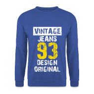 Sweat-shirts ~ Sweat-shirt Homme ~ Pull homme vintage jeans design original