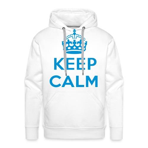 Herren Kaputzen Pullover- KEEP CALM - Männer Premium Hoodie