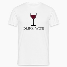 Drink Wine wine glass drinking wine 2c T-Shirts