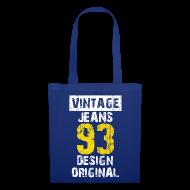 Sacs et sacs à dos ~ Tote Bag ~ Sac vintage jeans design original