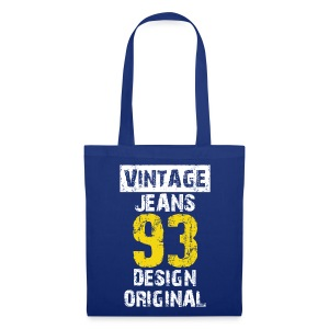 Sac vintage jeans design original - Tote Bag