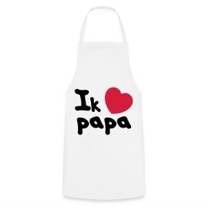 Ik hou van papa - Keukenschort