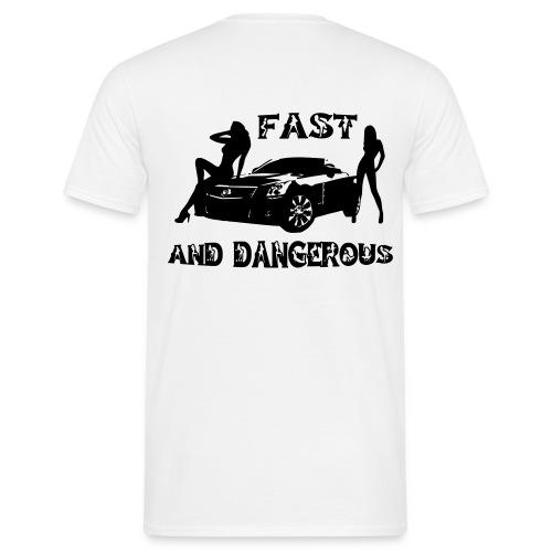 fast and dang - T-shirt herr