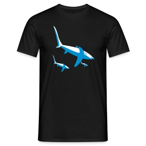 sharkfamily - Men's T-Shirt