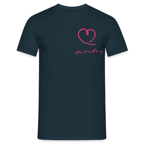 Kerle - Herz und Autogramm - Männer T-Shirt