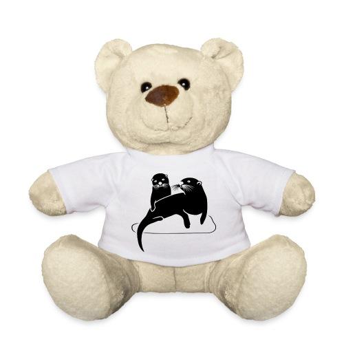 tier t-shirt otter fischotter lutra fisch biber - Teddy