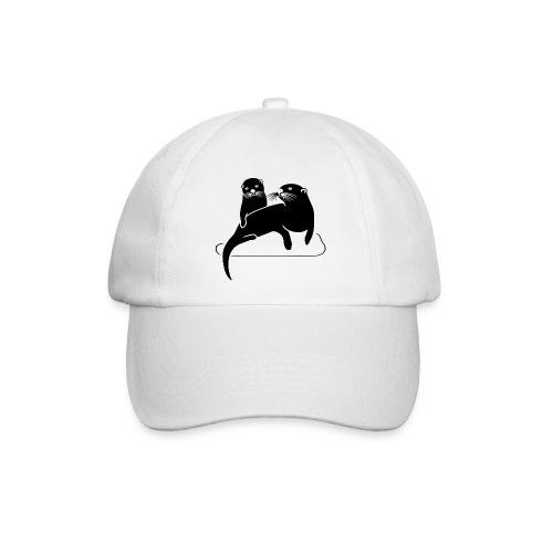 tier t-shirt otter fischotter lutra fisch biber - Baseballkappe