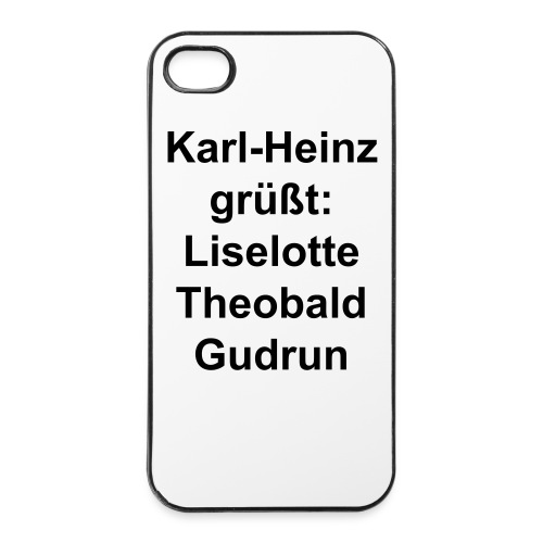 Helmut empfiehlt iPhone 4/4s Cases! - iPhone 4/4s Hard Case