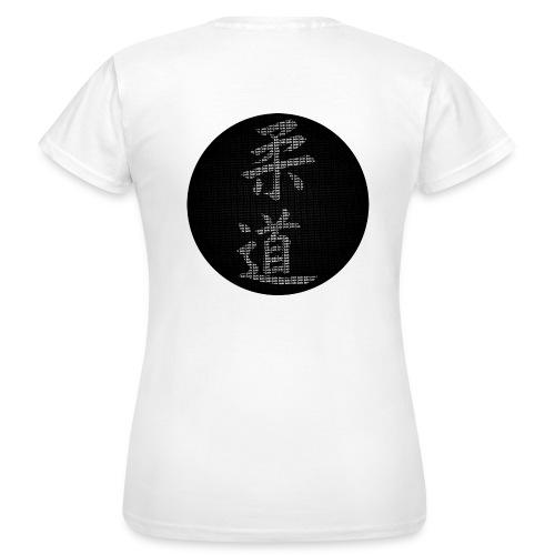calligraphie judo moderne dos - T-shirt Femme