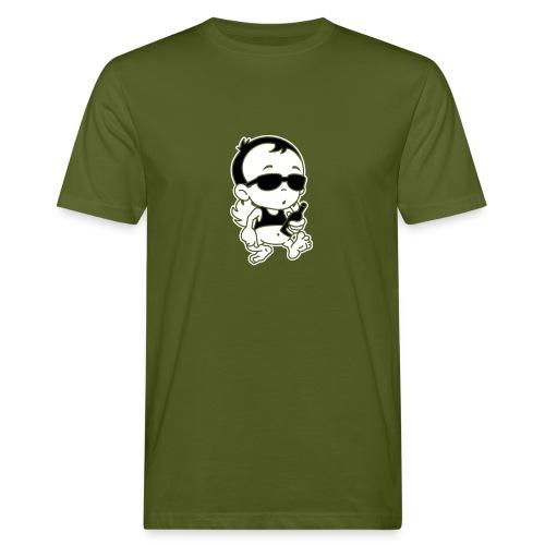 Engel Flügel Comic Angel Wings Funny Beer Bier Sun - Männer Bio-T-Shirt