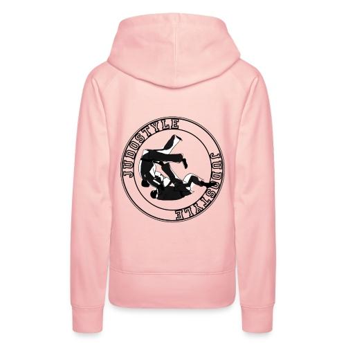 sweat tomoe-nage cercle dos - Sweat-shirt à capuche Premium pour femmes