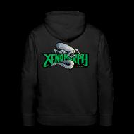 Hoodies & Sweatshirts ~ Men's Premium Hoodie ~ Xenomorph Recordings Hoodie