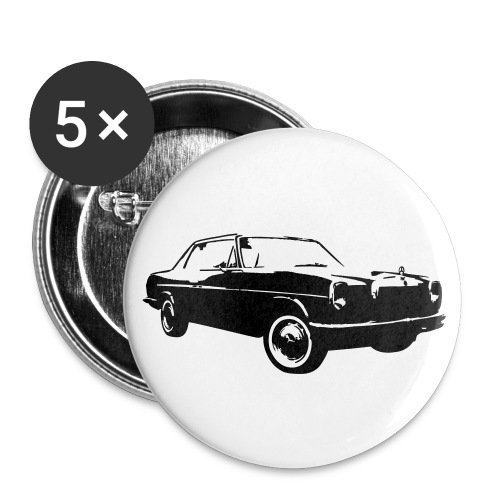 Oldi Mercedes Button - Buttons mittel 32 mm