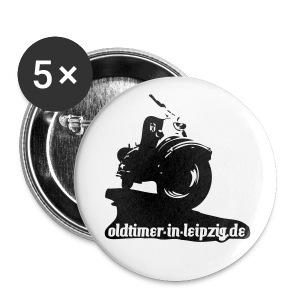 Oldi Berliner Roller mit OIL-Adresse - Buttons mittel 32 mm