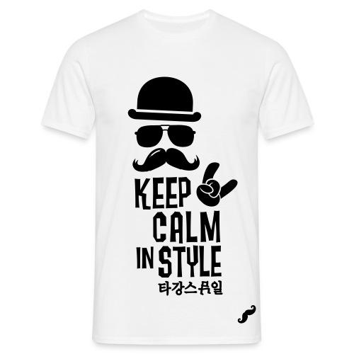 Keep Clam in Style - Maglietta da uomo