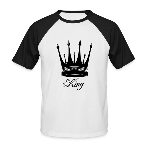 KING OF CRUNK BY CRUNK-style - T-shirt baseball manches courtes Homme