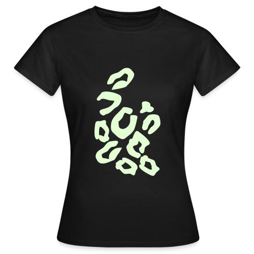 Girlscene T-shirt Tigerprint - Vrouwen T-shirt