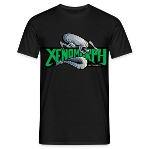 Xenomorph Recordings T Shirt  - Men's T-Shirt