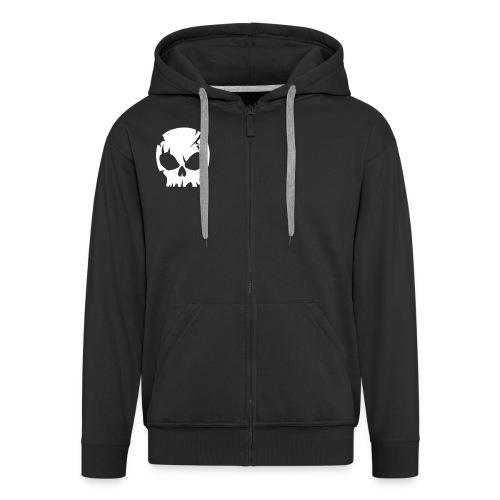 skull - Premium Hettejakke for menn
