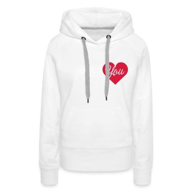 I love heart you valentine valentine's day t-shirt Hoodies & Sweatshirts