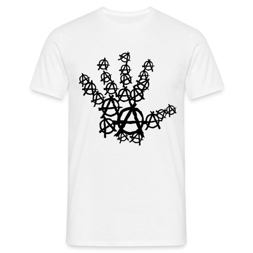 Main logo Anarchy Breizh Pirate - T-shirt Homme