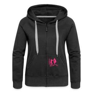 Ladies zip up hoody - Women's Premium Hooded Jacket