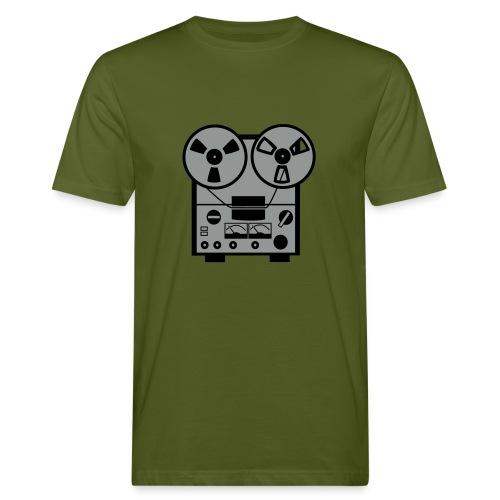 Oldschool Taperecorder - Mannen Bio-T-shirt
