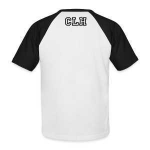 Mens black and white t shirt - Men's Baseball T-Shirt