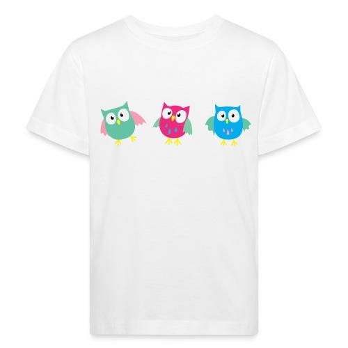 3 hiboux - T-shirt bio Enfant