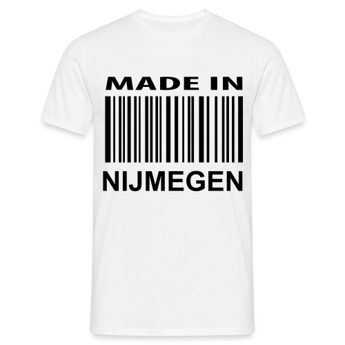Made In Nijmegen Heren - Mannen T-shirt