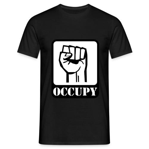 OCCUPY T-SHIRT - Herre-T-shirt