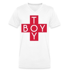 TOY BOY - Men's Organic V-Neck T-Shirt by Stanley & Stella