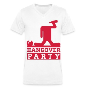 HANGOVER PARTY - Men's Organic V-Neck T-Shirt by Stanley & Stella