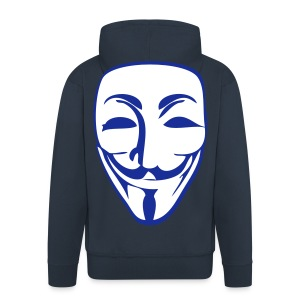 Zipped Mask hoodie - Men's Premium Hooded Jacket