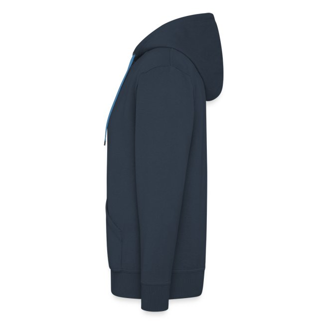 Zipped face hoodie