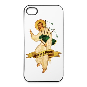 God is a piper - Iphone 4/4s cover - iPhone 4/4s Hard Case