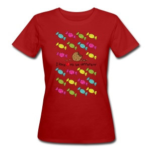 I love to be different- cookie T-Shirts - Frauen Bio-T-Shirt