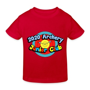 Junior Archery Club T Shirt - Kids' Organic T-shirt
