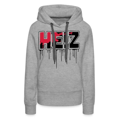 HE!Z - Frauen Premium Hoodie