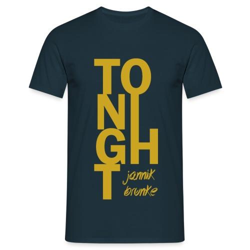 Tonight (Boys) - Gelb - Männer T-Shirt